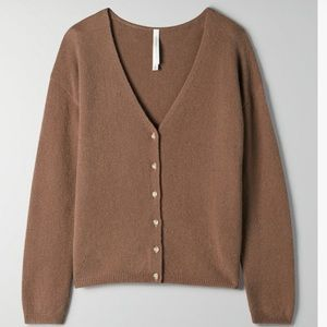 The Group by Babaton Lounge Cardigan Wool
